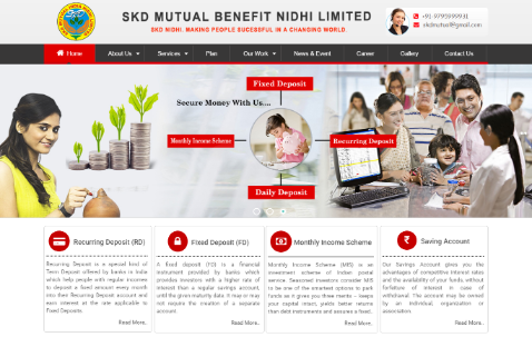 SKD Mutual Benefit Nidhi Limited