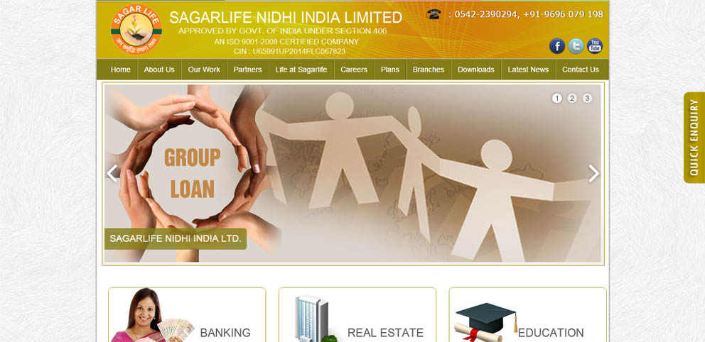 Sagarlife Nidhi India Ltd.