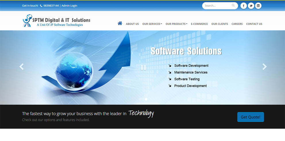 SPTM Digital and IT Solutions
